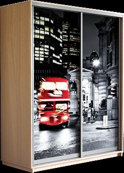 Шкаф-купе Дуо 1600/2200/600 (Фотопечать Лондон) - фото 12120