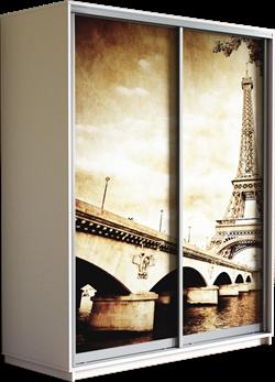 Шкаф-купе Дуо 1600/2400/600 (Фотопечать Париж) - фото 12260