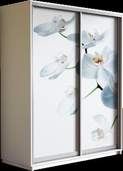 Шкаф-купе Дуо 1400/2200/450 (Фотопечать Орхидея) - фото 14860