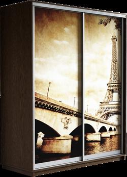 Шкаф-купе Дуо 1600/2400/450 (Фотопечать Париж) - фото 14887