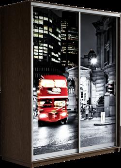 Шкаф-купе Дуо 1600/2400/450 (Фотопечать Лондон) - фото 14903