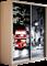Шкаф-купе Дуо 1200/2200/600 (Фотопечать Лондон) - фото 11658