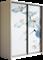 Шкаф-купе Дуо 1400/2400/600 (Фотопечать Орхидея) - фото 12010