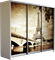 Шкаф-купе Трио 1800/2200/600 (Фотопечать Париж) - фото 12422