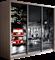Шкаф-купе Трио 2400/2200/600 (Фотопечать Лондон) - фото 13020