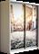 Шкаф-купе Дуо 1400/2400/450 (Фотопечать Старый Город) - фото 14851
