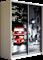 Шкаф-купе Дуо 1600/2200/450 (Фотопечать Лондон) - фото 14894