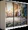 Шкаф-купе Трио 1800/2400/450 (Фотопечать Старый Город) - фото 14992